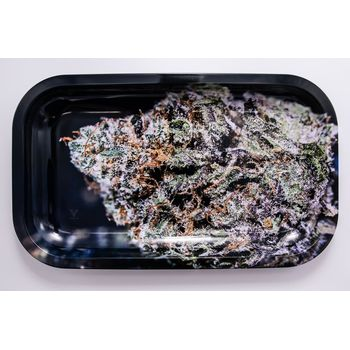 V Syndicate Rolling Tray Large aus Metall 27 x 16 cm Bubba Kush