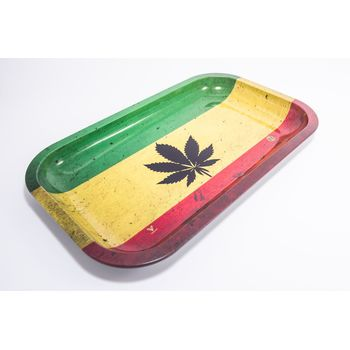 V Syndicate Rolling Tray Large aus Metall 27 x 16 cm...