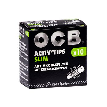 OCB ActivTips Slim 10 Stk. 7mm