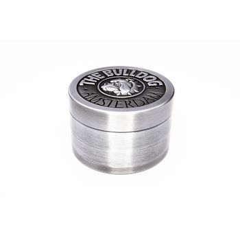 Grinder The Bulldog 4-tlg. Silber, Ø 50mm