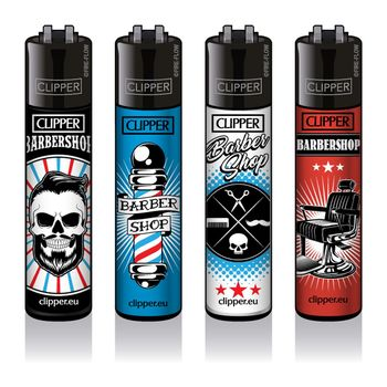Clipper Classic Large Feuerzeug Barber Shop