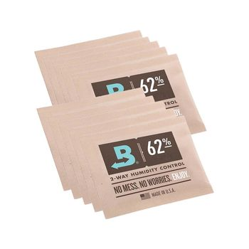 Boveda Humidipak 10er Pack, 62% 8 g, 2-way Regulierung...
