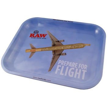 RAW Rolling Tray Drehunterlage aus Metall Flying High 34...